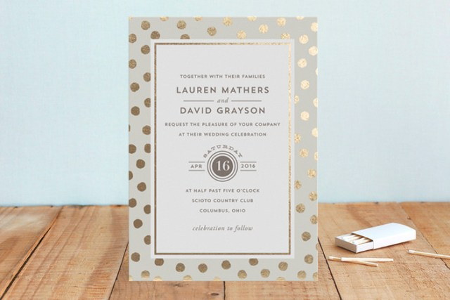 Spring Sale at Minted | Wedding Stationery | Oh Lovely Day