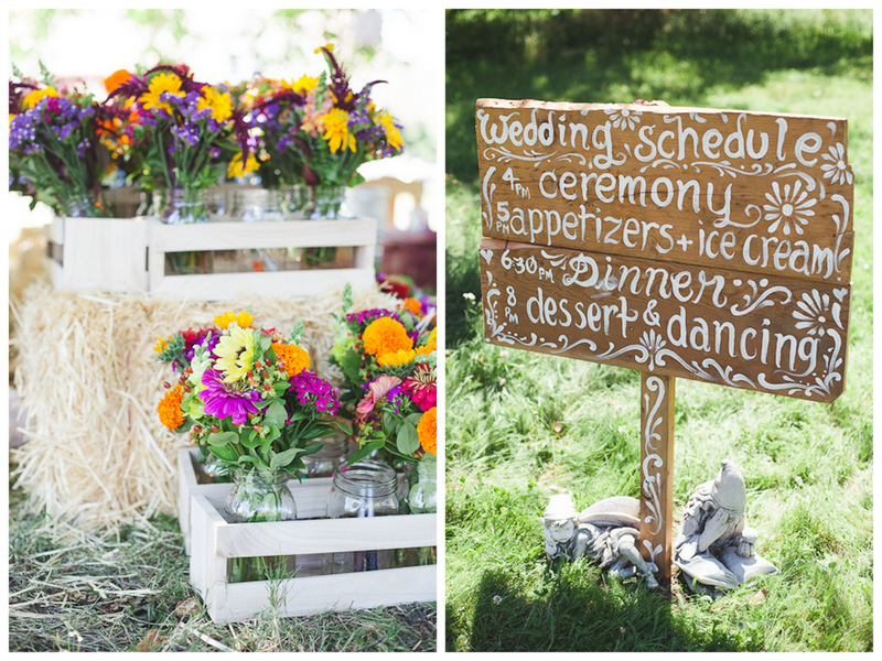 ... Summer Backyard BBQ Wedding | Juliet Ashley Photography On Oh Lovely  Day ...