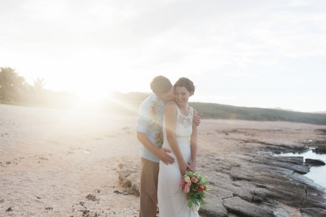 Dreamy Beach Vow Renewal in Saipan | Mylyn Wood Photography on Oh Lovely Day