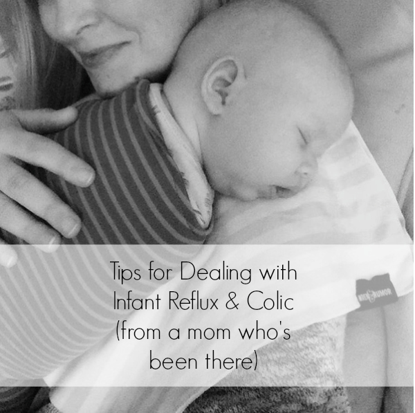 Tips for dealing for infant reflux and colic from a mom who has been there - SO helpful. Lifesaving tips to get you through those really hard months of screaming and give both you and your baby much needed relief and sleep! a must pin!!