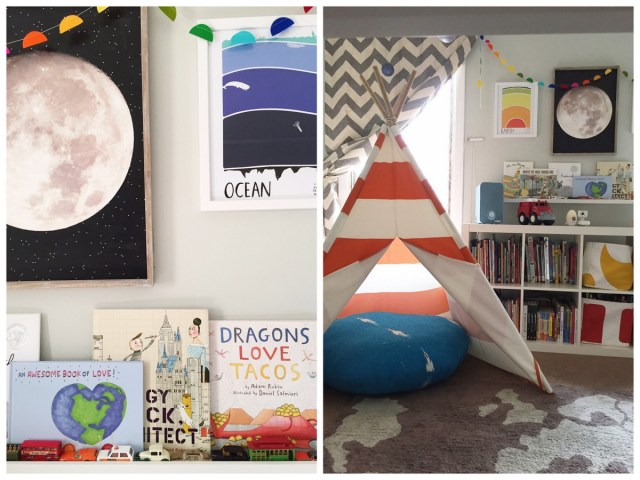 Shared Boys' bedroom | Charlie & Calvin's room tour with The Land of Nod