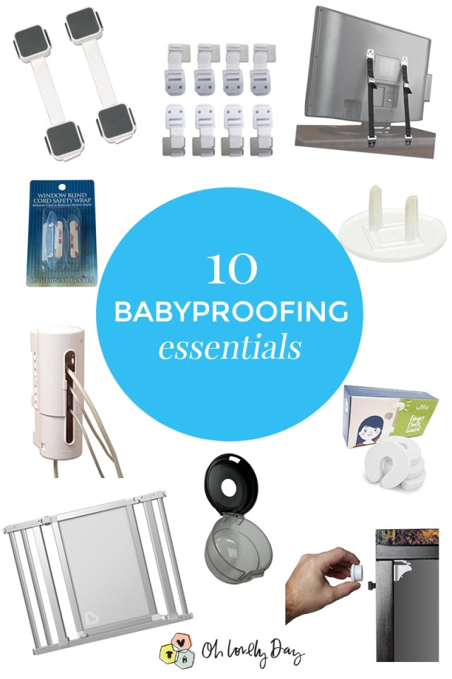 The 10 Babyproofing essentials you need to cover all your baby safety bases