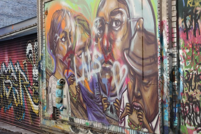 Graffiti Alley street art Toronto Canada