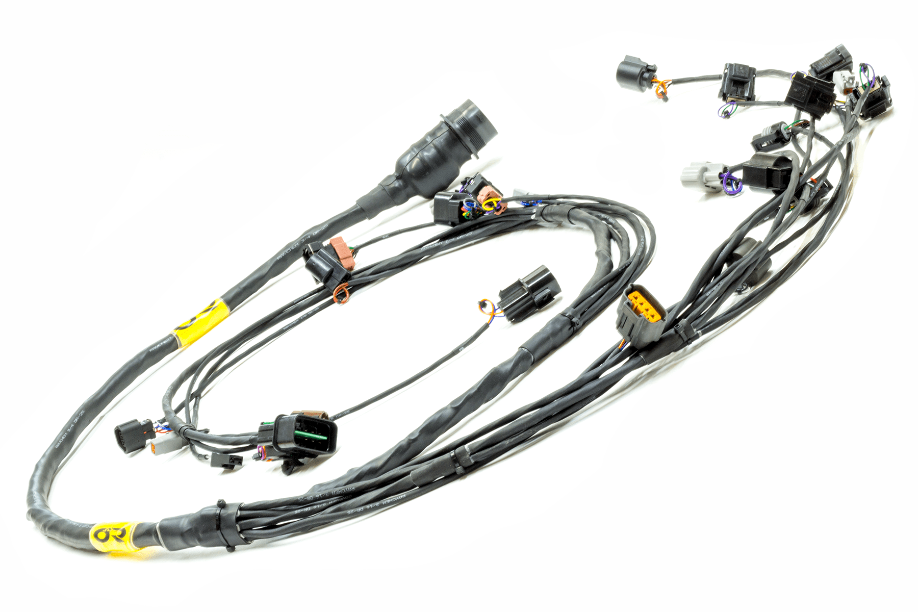 Evo 4 6 Plug Amp Play Tucked Mil Spec Engine Harness