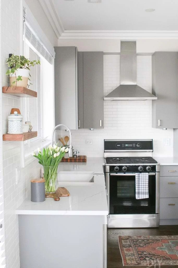 Diy Small Kitchen Decorating Design Ideas Ohmeohmy Blog