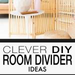 Clever Diy Room Divider Ideas Ohmeohmy Blog