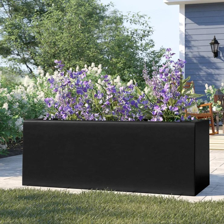 Stunning Planter Box Ideas Projects For Your Patio Ohmeohmy Blog