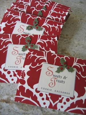 Christmas Cookie Exchange Invitations