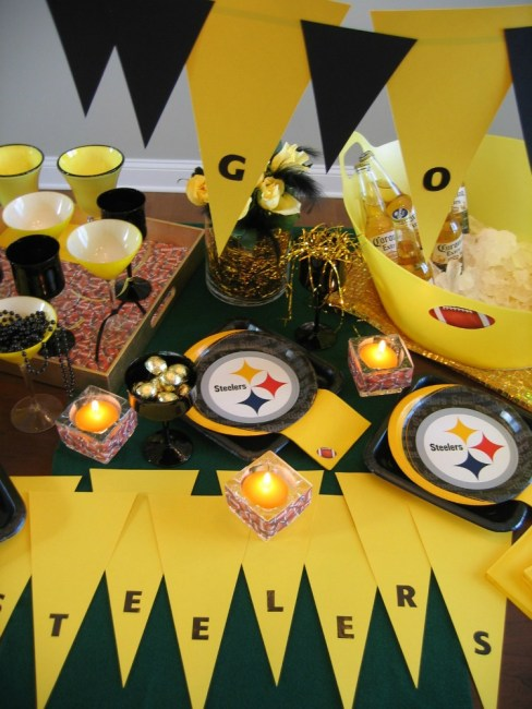 Football party Ideas that can be used for any team | OHMY-CREATIVE.COM