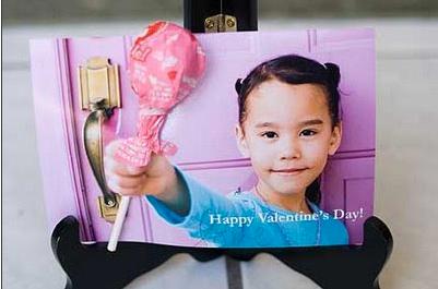 DIY Child Photo Valentine Card