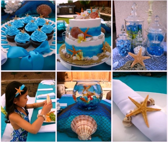 Create A Splash With This Under The Sea Party Birthday Party Ocean Party Including Fish