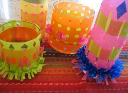 Cinco De Mayo Tissue Paper Centerpiece