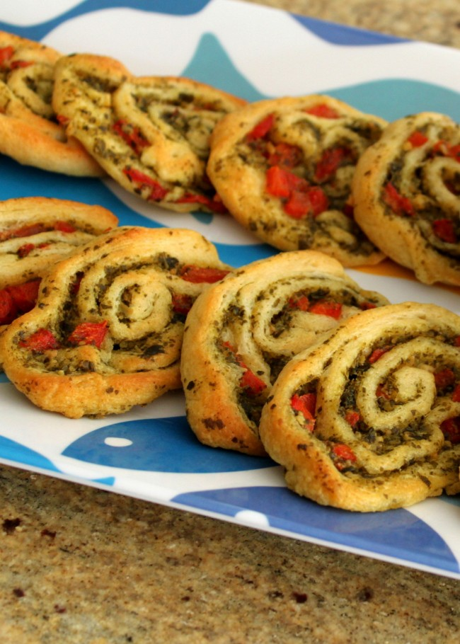 Party Perfect Appetizer – Party Pesto Pinwheels