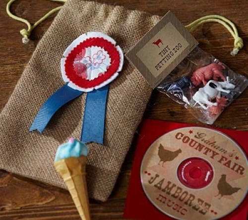 Country Fair Party Treat Bags