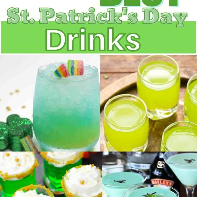 The Best St. Patrick's Day Drinks | Green Cocktails