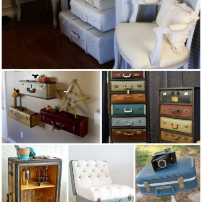 20 DIY Vintage Suitcase Decorating Ideas!