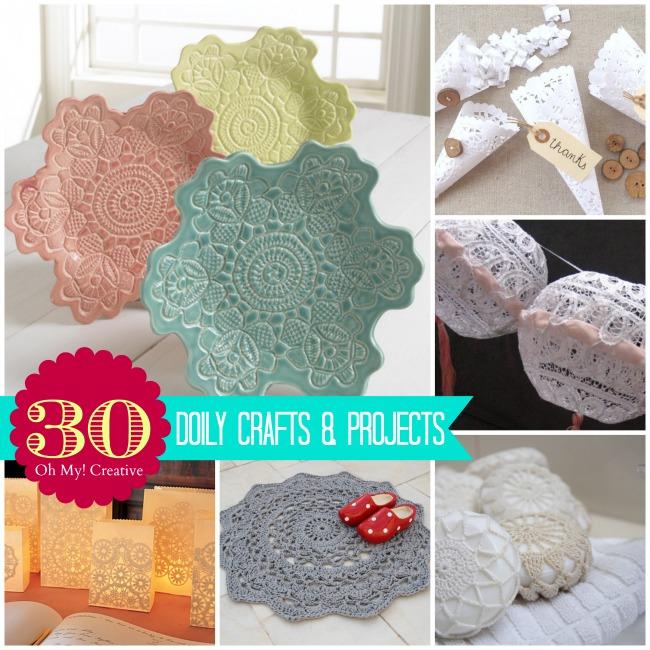 30 DIY Doily Crafts
