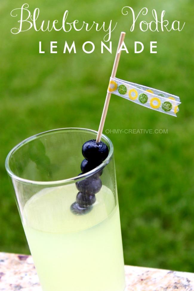 Blueberry Vodka Lemonade
