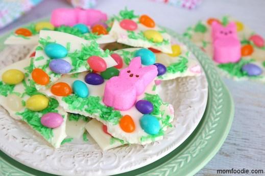 Easter Peeps Chocolate Candy Bark