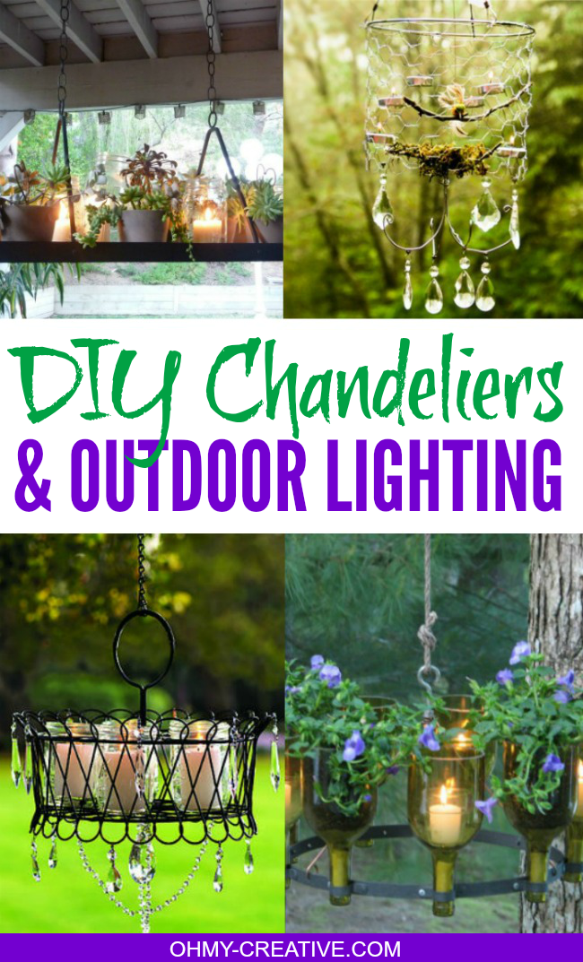 Diy chandeliers and outdoor lighting oh my creative pretty do it yourself chandeliers outdoor lighting ideas ohmy creative mozeypictures Gallery