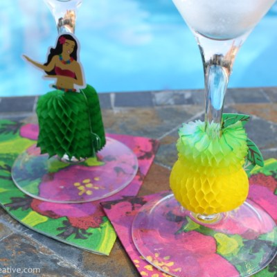 Honeycomb Wine Glass Charms