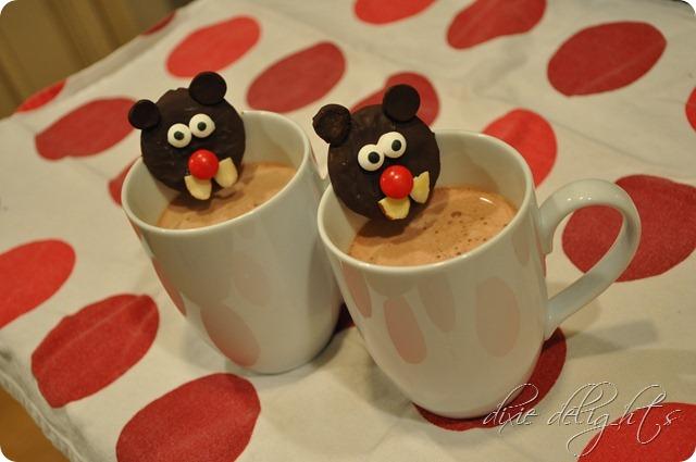 Groundhog Day Hot Chocolate mug