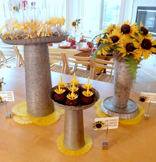 Sunflower 50th Birthday Party