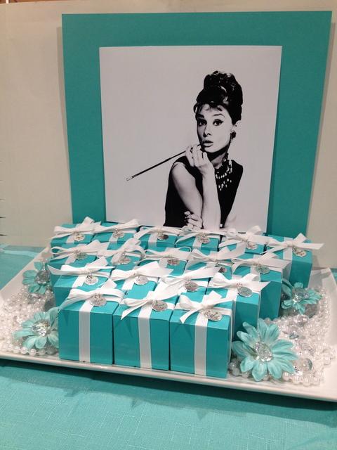 Tiffany Milestone Birthday Party 30th, 40th, 50th, 60th Birthdays