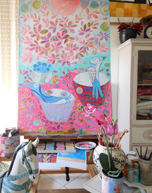 Spring Painting and Art Studio
