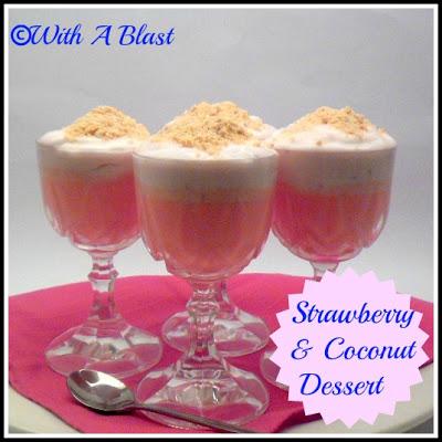 Strawberry & Coconut Dessert