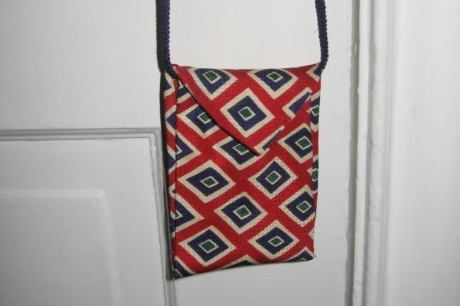 DIY Necktie Bag Tutorial