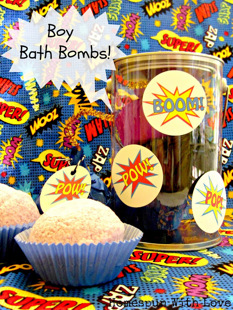 Boys Bath Bombs