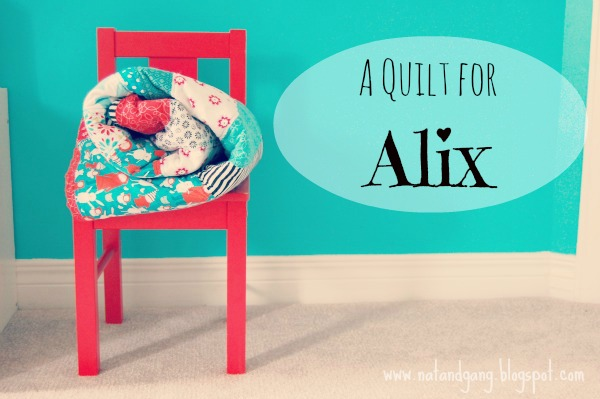 DIY Girls Quilt