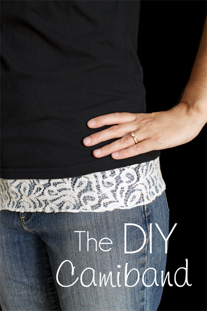 Sew your own Cami band