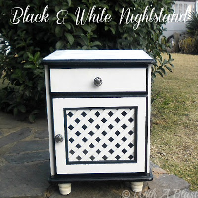 How to paint a nightstand