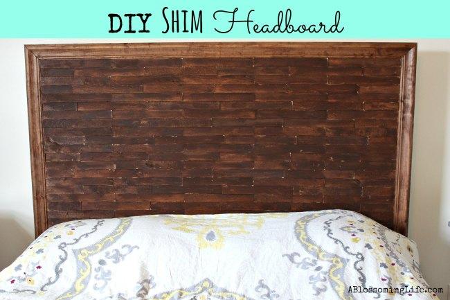 DIY Shim Headboard