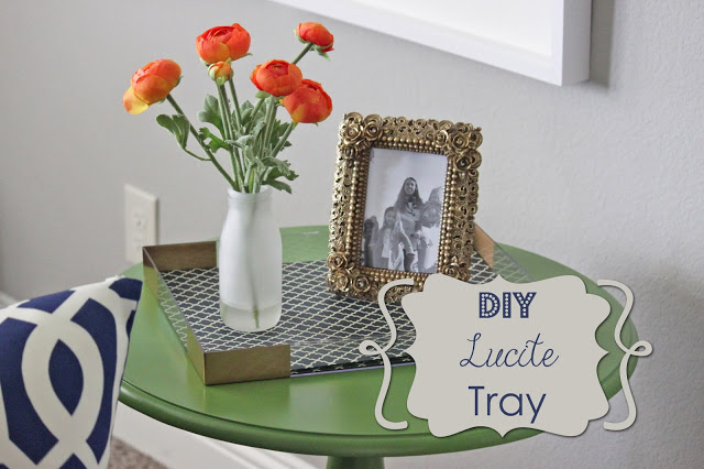 do it yourself serving tray