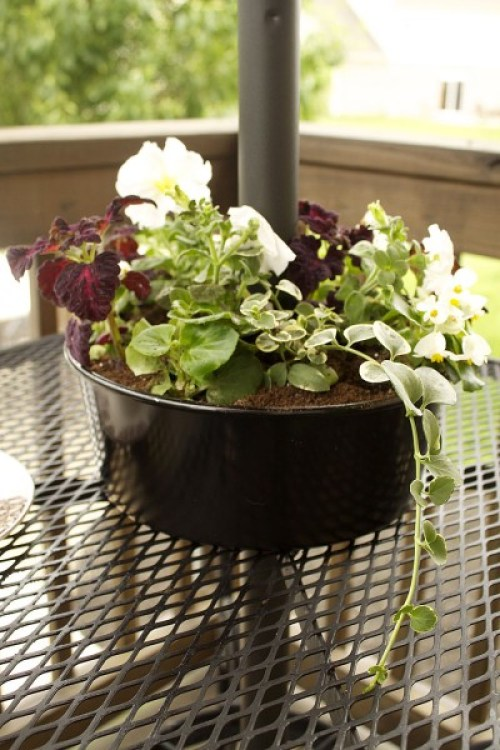 Goodwill Bundt Cake Planter