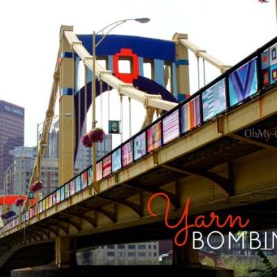 Yarn Bombing The Andy Warhol Bridge