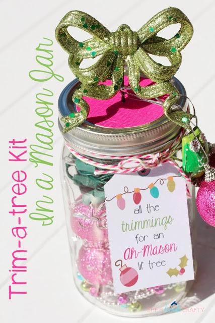 Masson Jar Christmas Gift