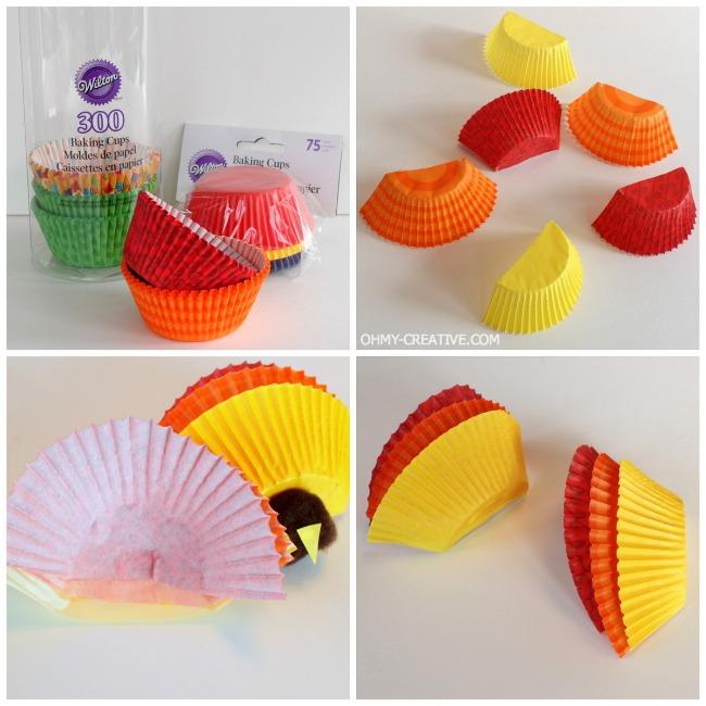 Kids Thanksgiving Turkey Craft | OhMy-Creative.com