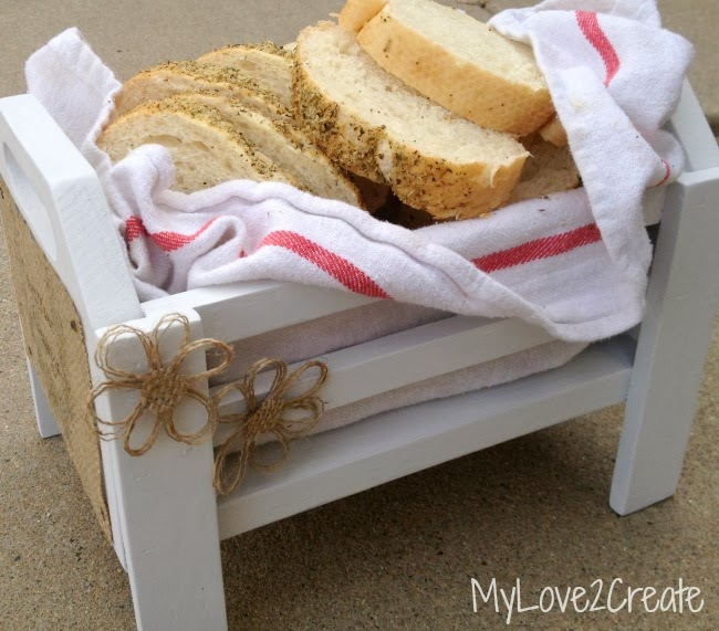 MyLove2Create, bread and flowers
