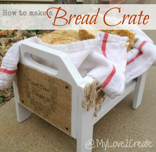 How To Make A Bread Crate Or Serving Tray