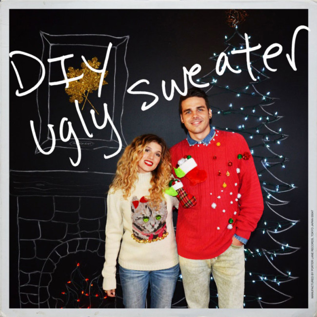 DIY Ugly Christmas Sweater