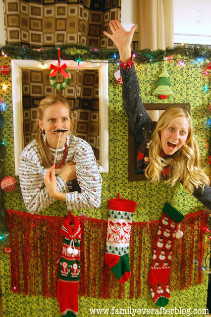 Ugly Christmas Sweater Party Photo Booth