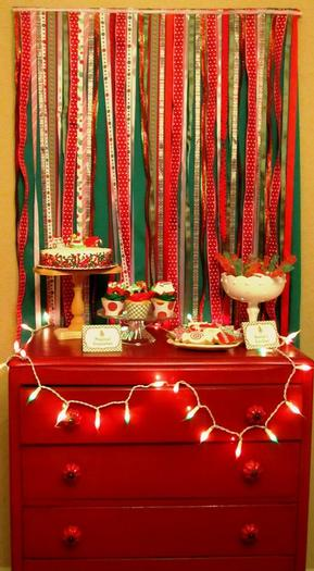 Ugly Sweater Dessert Table