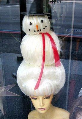 snowman wig