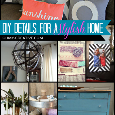 Do It Yourself Details For A Stylish Home