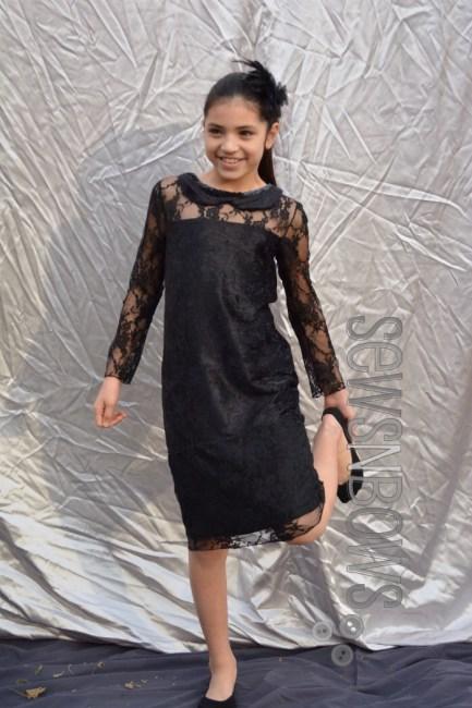 Girls Lace Dress pattern