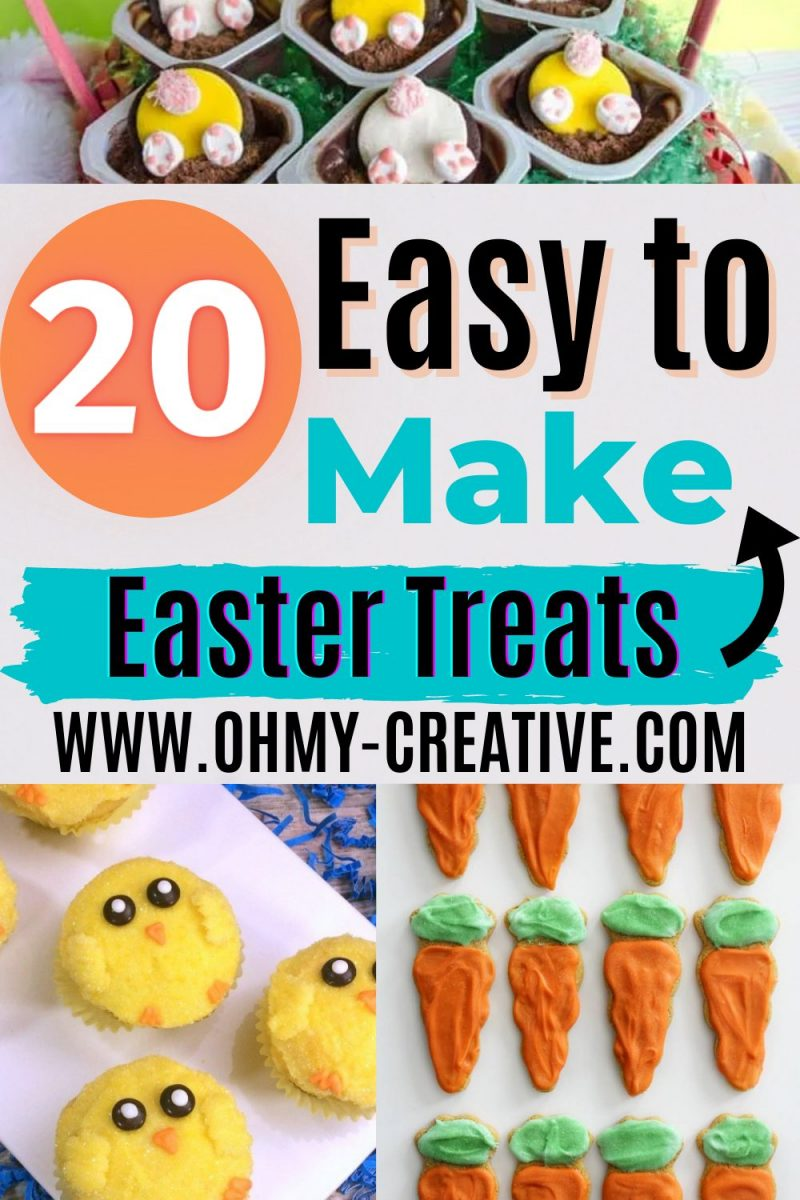 Combine chicks, carrots, bunnies, and more to make some of the cutest Easter treats this holiday season!